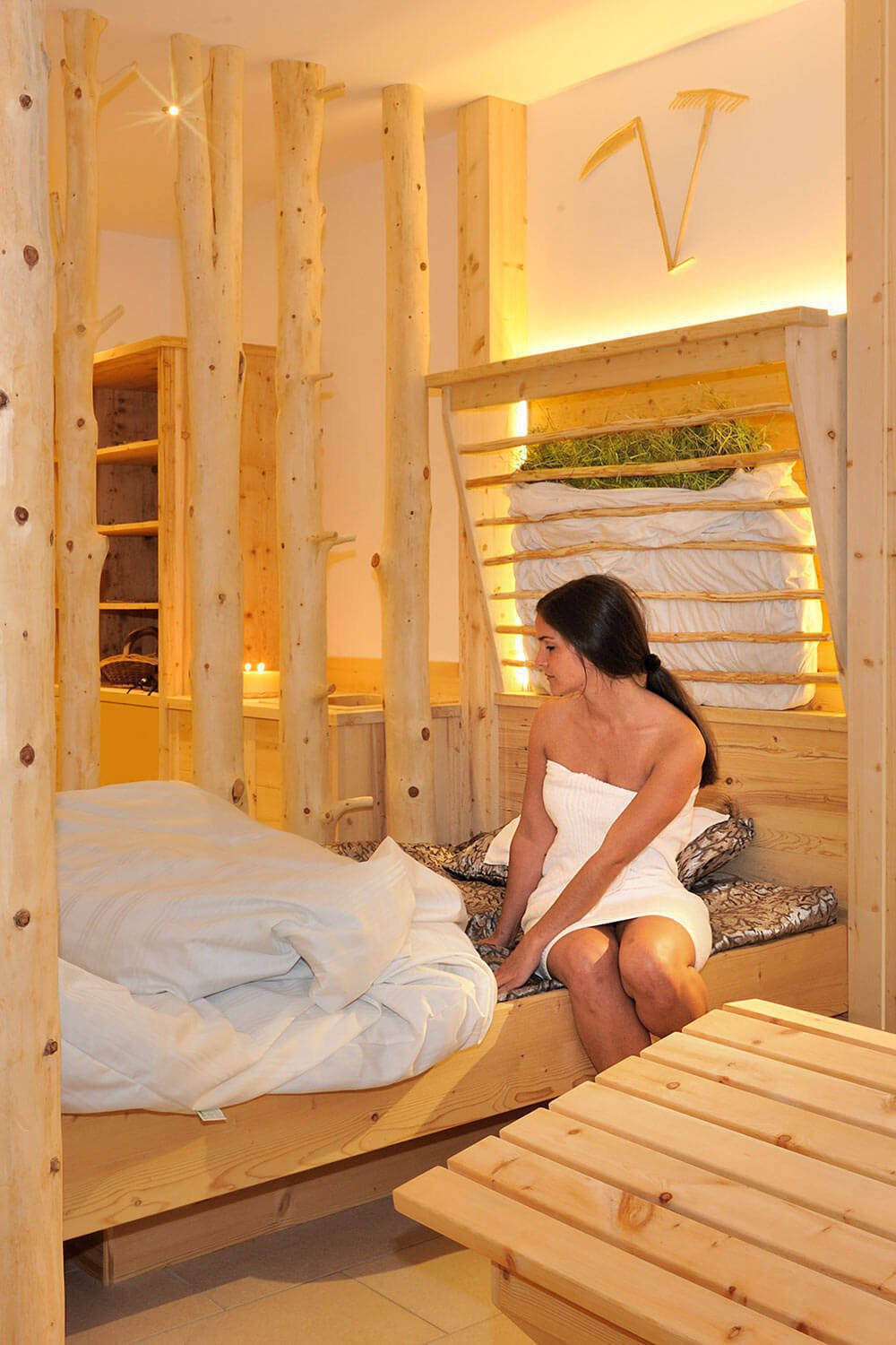 Comfort oasis at the Wellness farm in South Tyrol