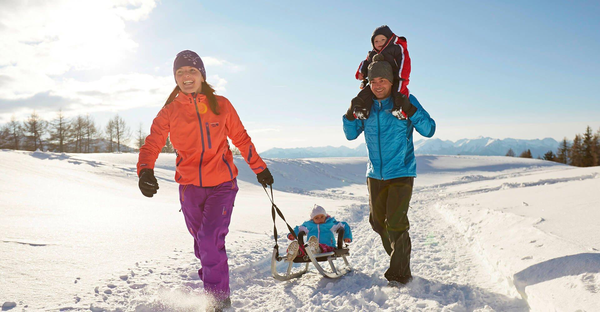 Traumhaft schön: Ein Winterurlaub in Lüsen