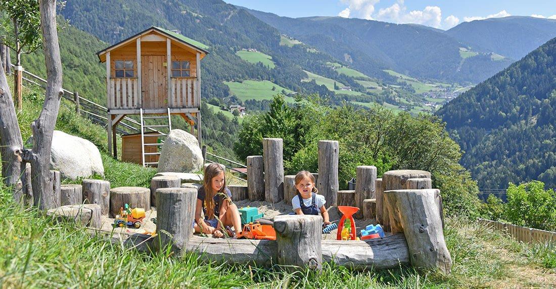 Kinder & Fun in Lüsen/Südtirol | Ferien auf dem Bauernhof
