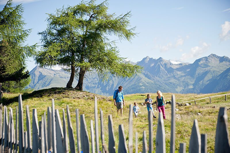 The Lüsner Alm - A hiking paradise in the Dolomites
