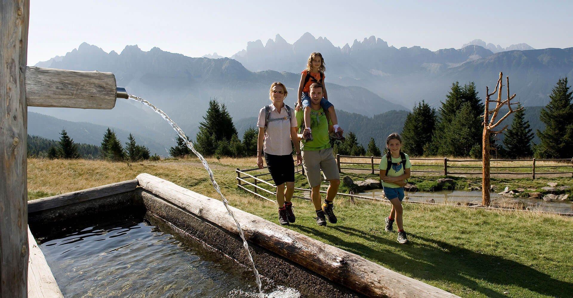Wanderurlaub in den Dolomiten | Sieberlechnerhof in Lüsen bei Brixen